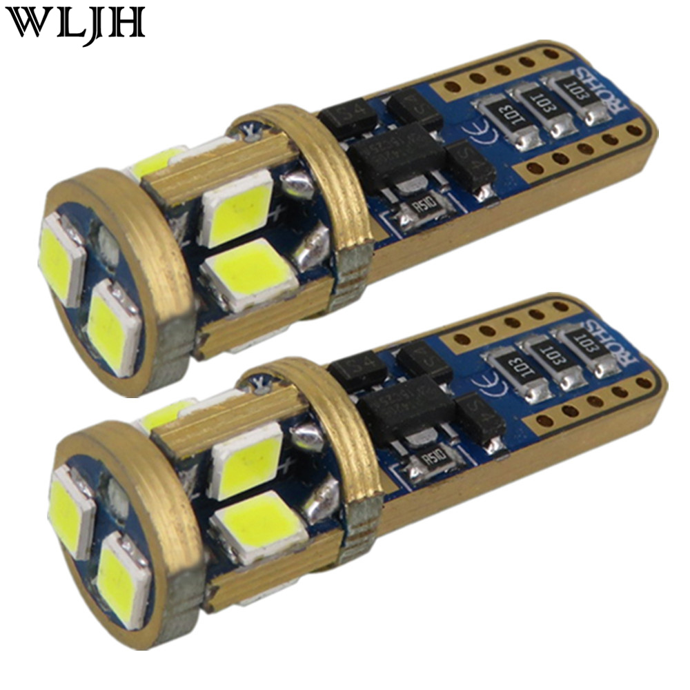 WLJH 2x Canbus T10 LED W5W 2835 SMD Araba Styling Oto Otomobiller Ampul Opel Astra h j g Corsa Zafira Insignia için Vectra b c d